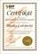 Certifikát o absolvování Akademie Zprostředkovatele finančních programů